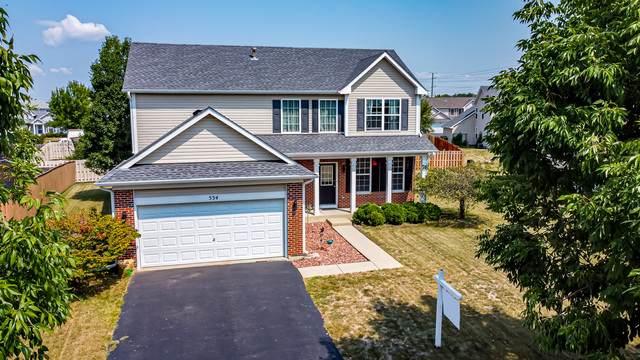 534 Holloway Road, Romeoville, IL 60446 (MLS #10836452) :: John Lyons Real Estate