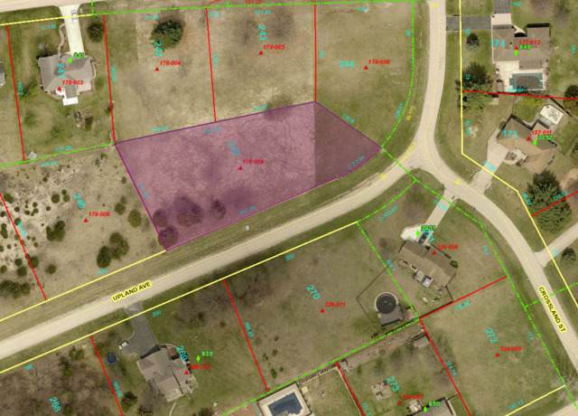 Lot 245 Upland Avenue, Dixon, IL 61021 (MLS #10838399) :: Suburban Life Realty
