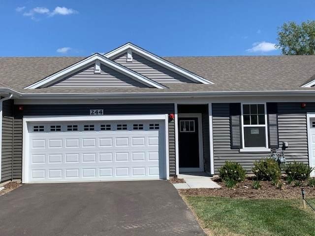 244 Sussex Lane, North Aurora, IL 60542 (MLS #10838787) :: John Lyons Real Estate
