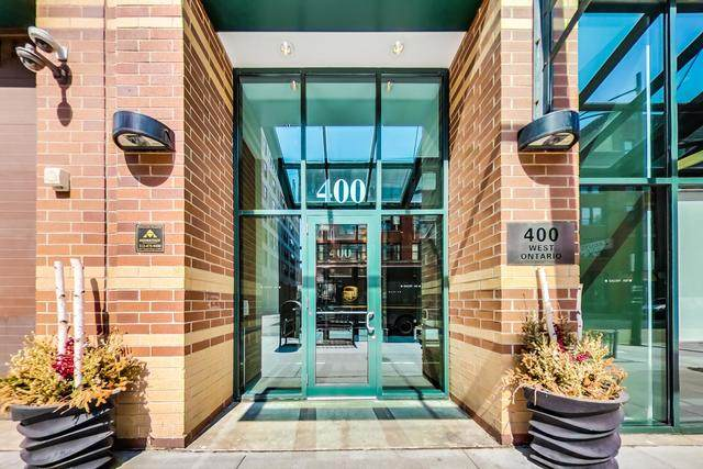 400 W Ontario Street #801, Chicago, IL 60654 (MLS #10838940) :: BN Homes Group