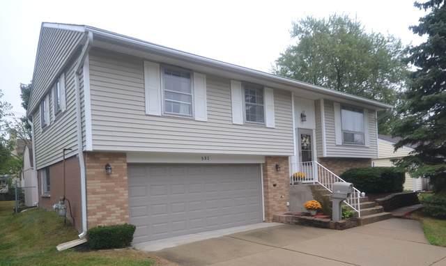 531 Newberry Drive, Streamwood, IL 60107 (MLS #10839017) :: John Lyons Real Estate
