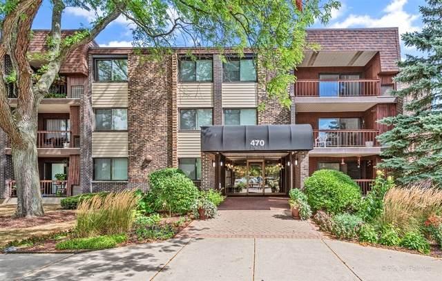 470 Raintree Court 2J, Glen Ellyn, IL 60137 (MLS #10842115) :: John Lyons Real Estate