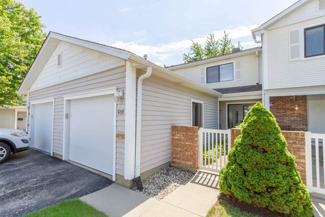 639 Surfside #639, Schaumburg, IL 60194 (MLS #10842318) :: John Lyons Real Estate