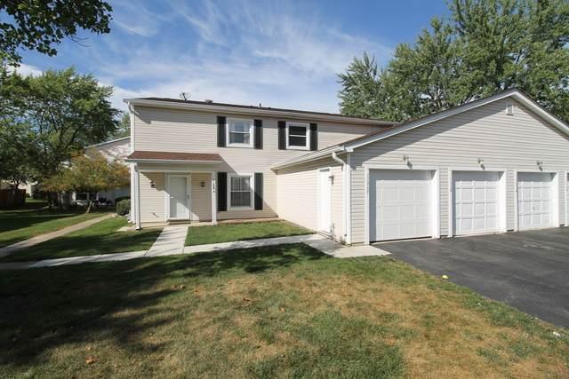 1188 E Barberry Lane 26D, Palatine, IL 60074 (MLS #10843170) :: Janet Jurich