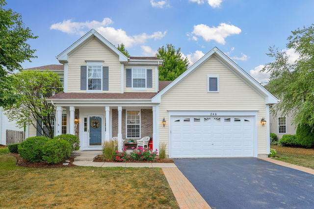 246 Berkshire Lane, Sugar Grove, IL 60554 (MLS #10844445) :: John Lyons Real Estate