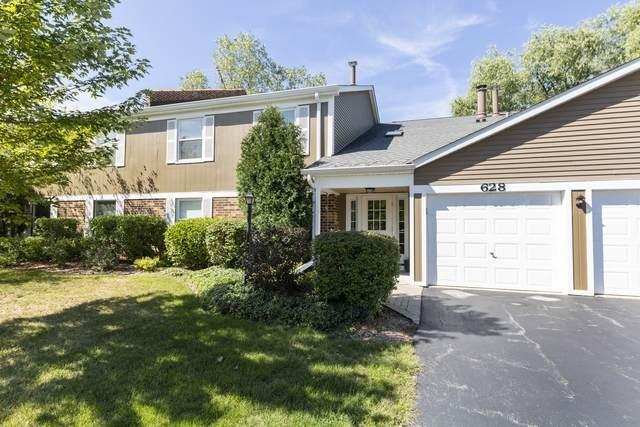 628 N Deer Run Drive #628, Palatine, IL 60067 (MLS #10845825) :: John Lyons Real Estate