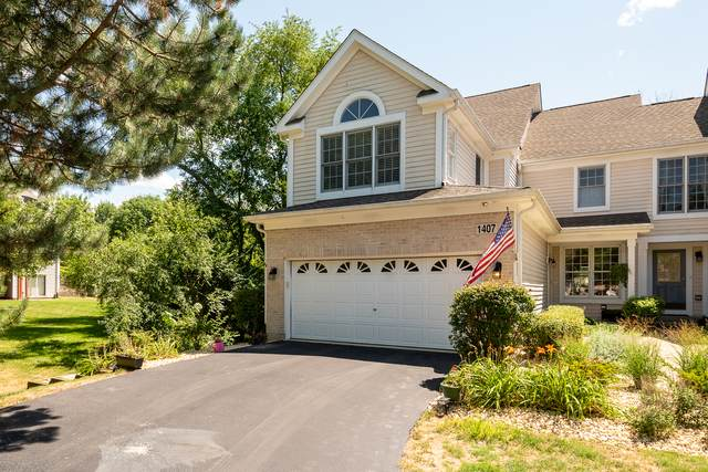 1407 Whitespire Court #1407, Naperville, IL 60565 (MLS #10845962) :: John Lyons Real Estate