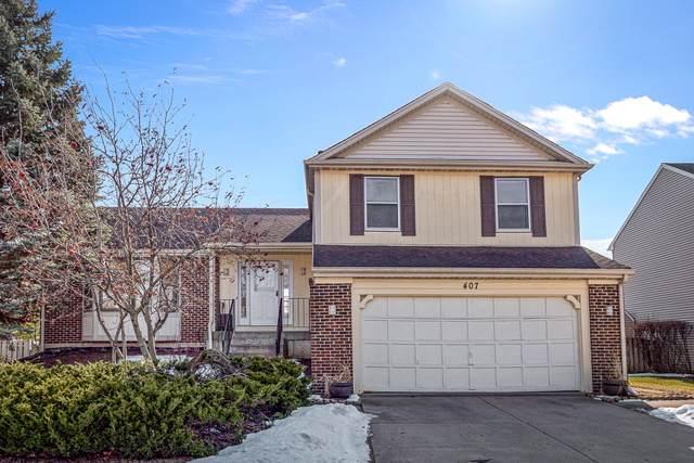 407 Claret Drive, Buffalo Grove, IL 60089 (MLS #10846362) :: Helen Oliveri Real Estate