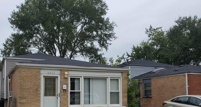 16042 Page Avenue, Harvey, IL 60426 (MLS #10847729) :: John Lyons Real Estate