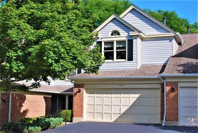1317 Oakmeadow Court, Wheeling, IL 60090 (MLS #10848556) :: John Lyons Real Estate