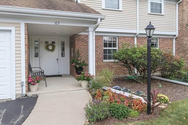 67 Beechmont Court B, Schaumburg, IL 60194 (MLS #10848813) :: John Lyons Real Estate