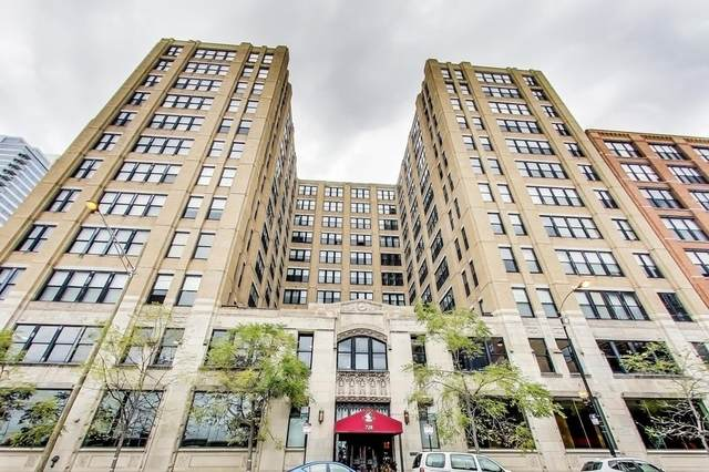 728 W Jackson Boulevard #914, Chicago, IL 60661 (MLS #10851575) :: BN Homes Group