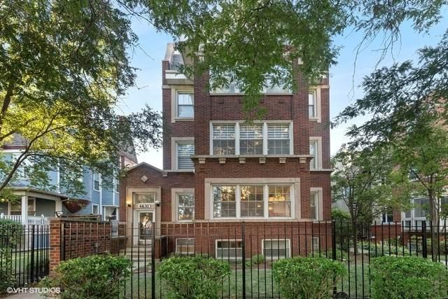 4631 S Ellis Avenue 1F, Chicago, IL 60653 (MLS #10852731) :: John Lyons Real Estate