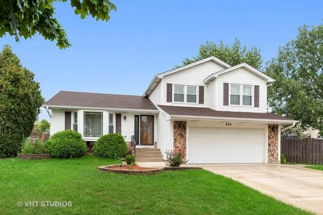 674 Schooner Lane, Elk Grove Village, IL 60007 (MLS #10854636) :: Littlefield Group