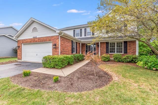 1443 Westglen Drive, Naperville, IL 60565 (MLS #10854707) :: John Lyons Real Estate
