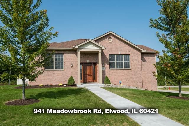 941 Meadowbrook Road, Elwood, IL 60421 (MLS #10863486) :: John Lyons Real Estate