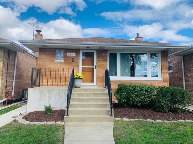 6116 W 63rd Place, Chicago, IL 60638 (MLS #10863957) :: The Dena Furlow Team - Keller Williams Realty