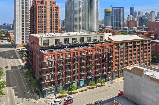 616 W Fulton Street #518, Chicago, IL 60661 (MLS #10870958) :: The Spaniak Team