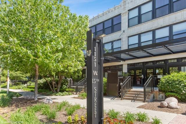 1151 W 15th Street #335, Chicago, IL 60608 (MLS #10871081) :: The Dena Furlow Team - Keller Williams Realty
