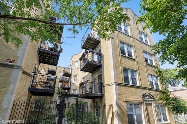 7052 N Damen Avenue #1, Chicago, IL 60645 (MLS #10873578) :: Helen Oliveri Real Estate