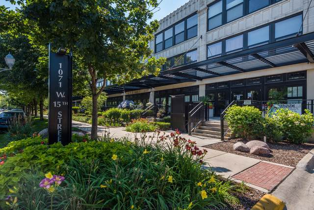 1071 W 15th Street #107, Chicago, IL 60608 (MLS #10878372) :: Helen Oliveri Real Estate