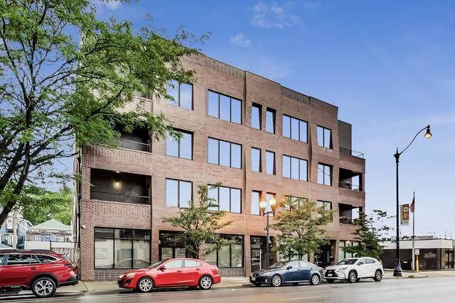 3914 N Damen Avenue #201, Chicago, IL 60618 (MLS #10878425) :: Touchstone Group