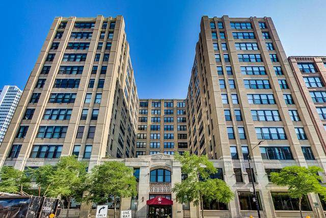 728 W Jackson Boulevard #725, Chicago, IL 60661 (MLS #10878767) :: Touchstone Group
