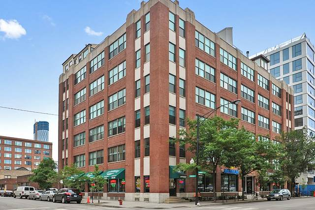 812 W Van Buren Street 4B, Chicago, IL 60607 (MLS #10878783) :: Touchstone Group