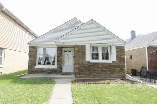 1643 N 23 Avenue, Melrose Park, IL 60160 (MLS #10879358) :: John Lyons Real Estate