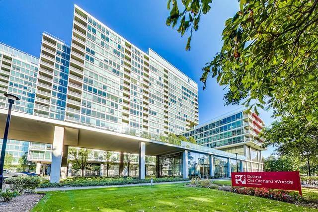 9715 Woods Drive #501, Skokie, IL 60076 (MLS #10879605) :: John Lyons Real Estate
