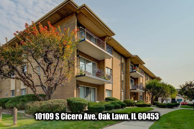 10109 S Cicero Avenue #305, Oak Lawn, IL 60453 (MLS #10880260) :: John Lyons Real Estate