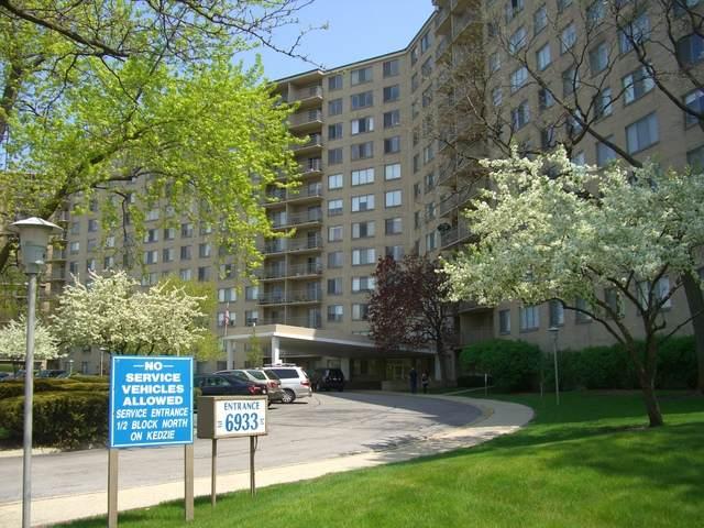 6933 N Kedzie Avenue #612, Chicago, IL 60645 (MLS #10881486) :: Helen Oliveri Real Estate