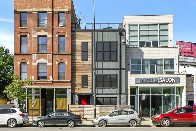 1414 W Division Street W #2, Chicago, IL 60642 (MLS #10881818) :: Helen Oliveri Real Estate