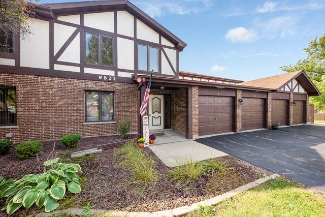9823 Mill Drive W E2, Palos Park, IL 60464 (MLS #10881940) :: Property Consultants Realty