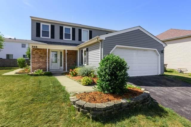 568 Oswego Drive, Carol Stream, IL 60188 (MLS #10881974) :: John Lyons Real Estate