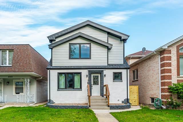 4321 N Newcastle Avenue, Harwood Heights, IL 60706 (MLS #10882193) :: John Lyons Real Estate