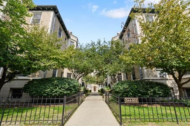544 W Brompton Avenue W 1G, Chicago, IL 60657 (MLS #10882369) :: Helen Oliveri Real Estate