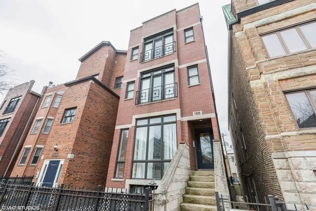 1526 N Bosworth Avenue #3, Chicago, IL 60642 (MLS #10882506) :: Helen Oliveri Real Estate
