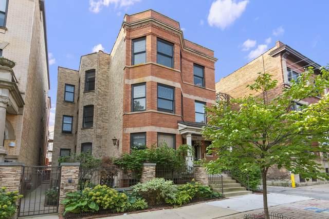 703 W Wellington Avenue #3, Chicago, IL 60657 (MLS #10882529) :: Helen Oliveri Real Estate