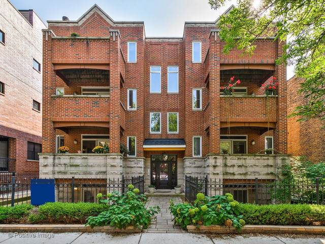 1421 W Byron Street 1E, Chicago, IL 60613 (MLS #10882929) :: Property Consultants Realty