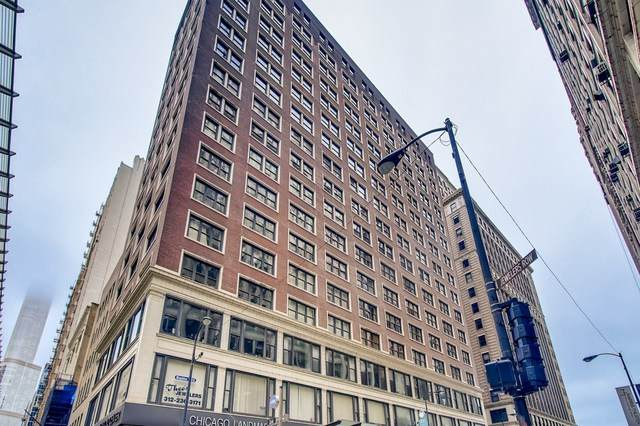 5 N Wabash Avenue #1401, Chicago, IL 60602 (MLS #10883128) :: Property Consultants Realty