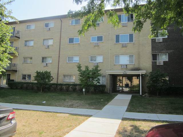 500 E Dogwood Lane #109, Mount Prospect, IL 60056 (MLS #10883597) :: John Lyons Real Estate