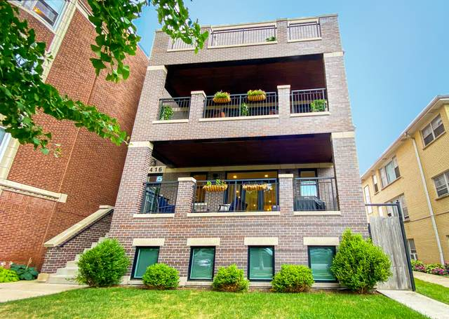 4416 N Winchester Avenue #2, Chicago, IL 60640 (MLS #10884371) :: Helen Oliveri Real Estate