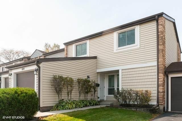 684 Cedarwood Court, Wheeling, IL 60090 (MLS #10884646) :: Helen Oliveri Real Estate