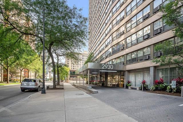 2930 N Sheridan Road #2205, Chicago, IL 60657 (MLS #10885960) :: Helen Oliveri Real Estate