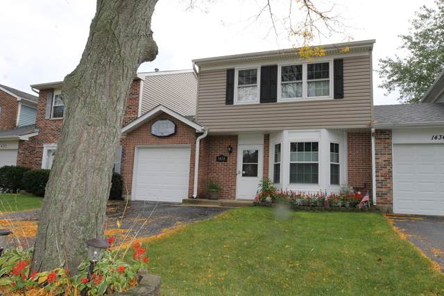 1434 Walnut Circle, Carol Stream, IL 60188 (MLS #10886366) :: John Lyons Real Estate