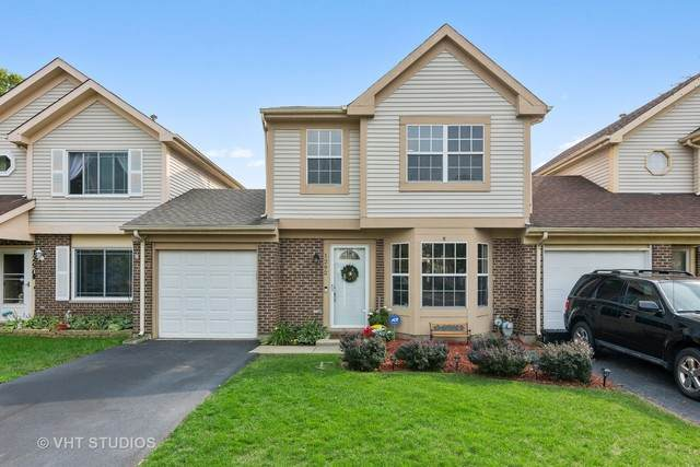 1292 Oriole Trail #1292, Carol Stream, IL 60188 (MLS #10891462) :: John Lyons Real Estate