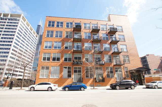 417 S Jefferson Street 404B, Chicago, IL 60607 (MLS #10893926) :: BN Homes Group