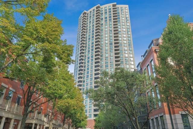 501 N Clinton Street #3402, Chicago, IL 60654 (MLS #10894143) :: John Lyons Real Estate