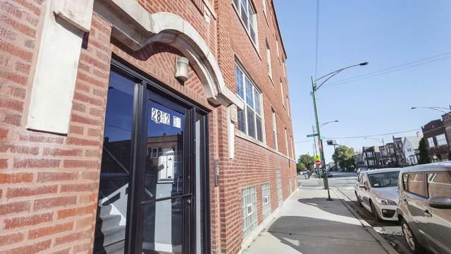 2852 N Kedzie Avenue #2, Chicago, IL 60618 (MLS #10896612) :: Helen Oliveri Real Estate